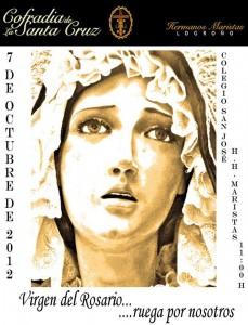 Cartel Nuestra Señora Vigen del Rosario 2012