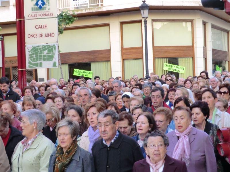 Rosario de la Aurora en Logroño
