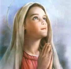 Niña Virgen María