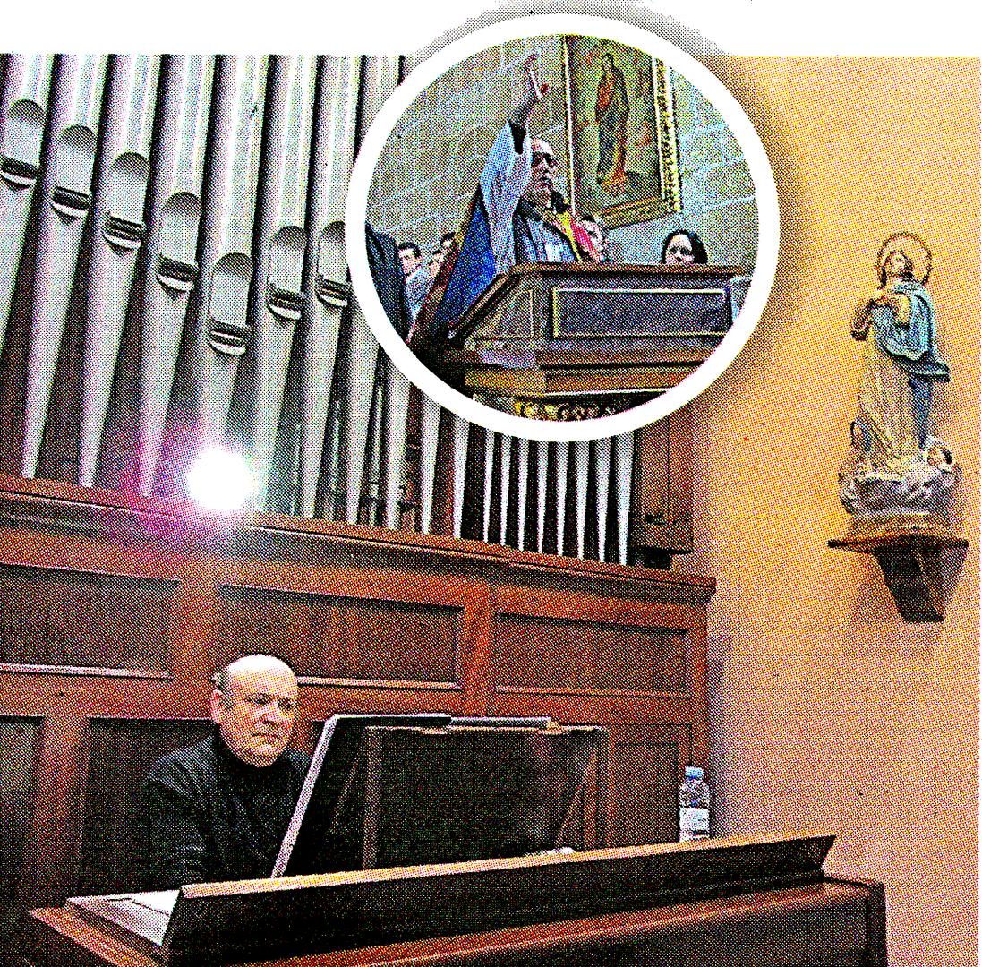 Concierto Organo en Lardero