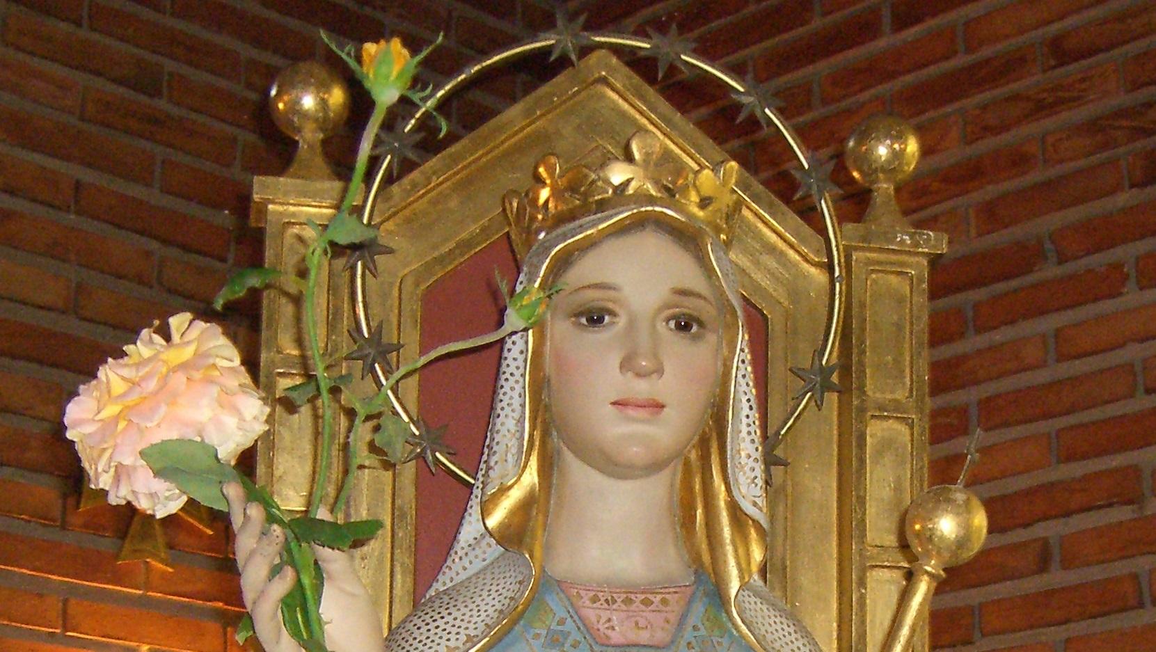 Capilla Virgen Reina, Albelda de Iregua.