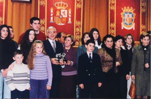 Entrega de premios Escuela de saetas
