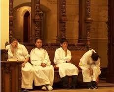 Misas aburridas