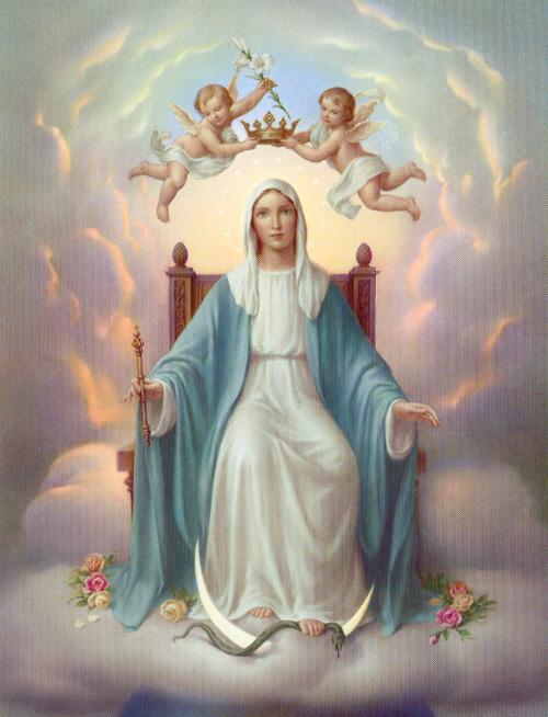 Virgen María Reina del Universo