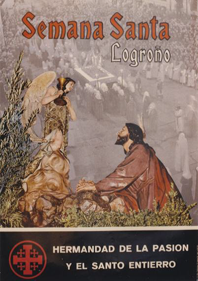 Cartel Semana Santa Logroño 1974