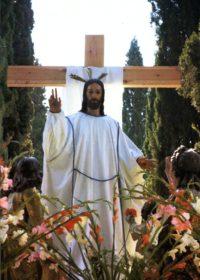 Imagen del Cristo Resucitado de Logroño